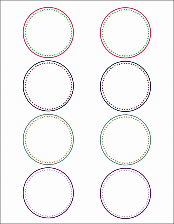 Avery Circle Template Printable For Avery Round Label Templates Invitation Template
