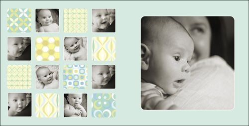 Baby Album Design Templates