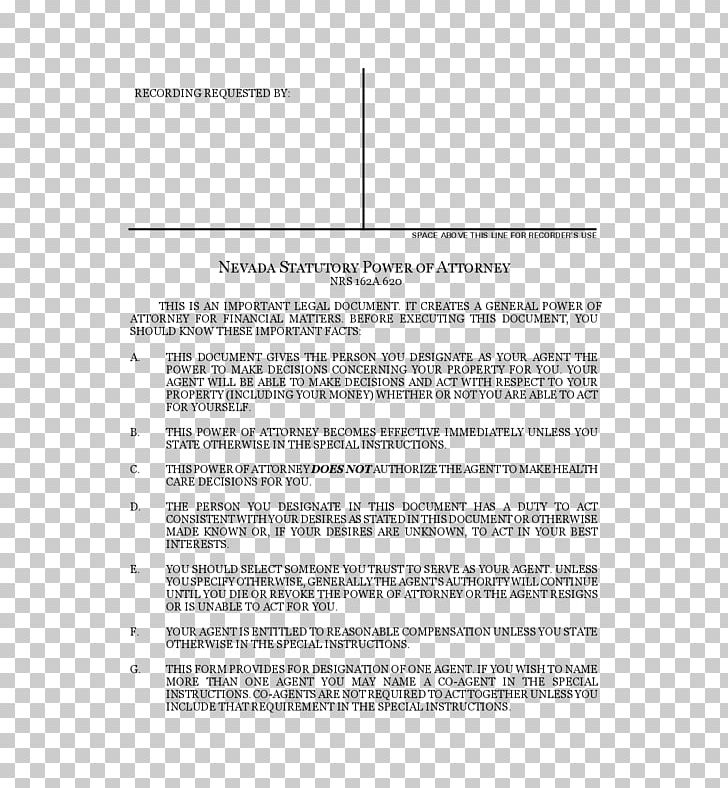 Bank Power Of Attorney Template