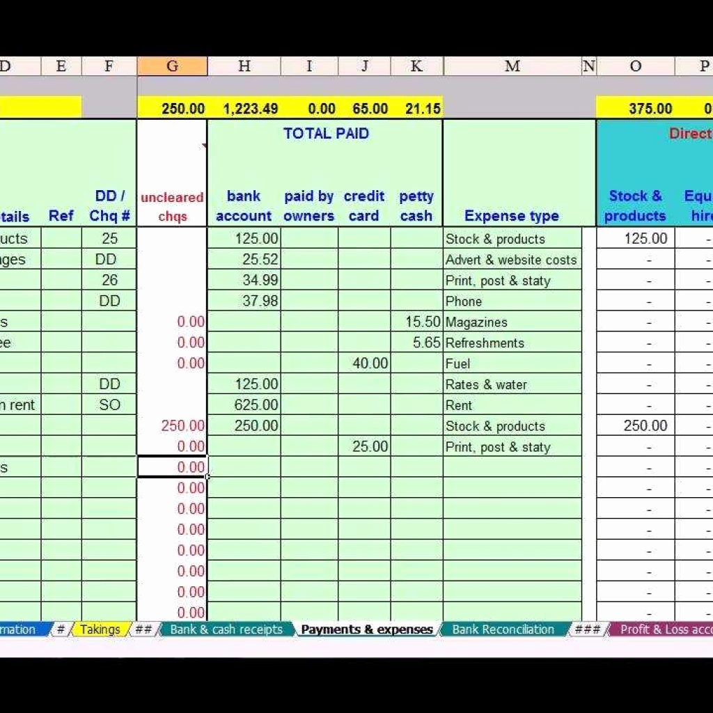 Small Business Accounting Spreadsheet Then Spreadsheet For Small Business Bookkeeping