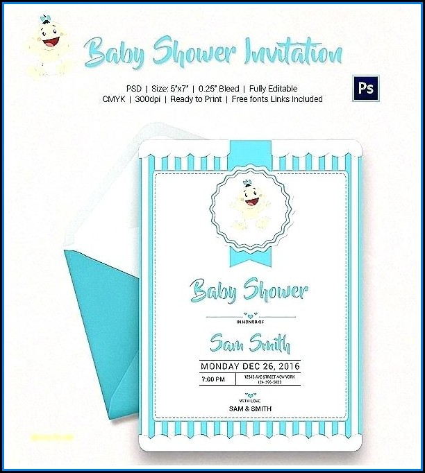 Blank Gender Reveal Templates