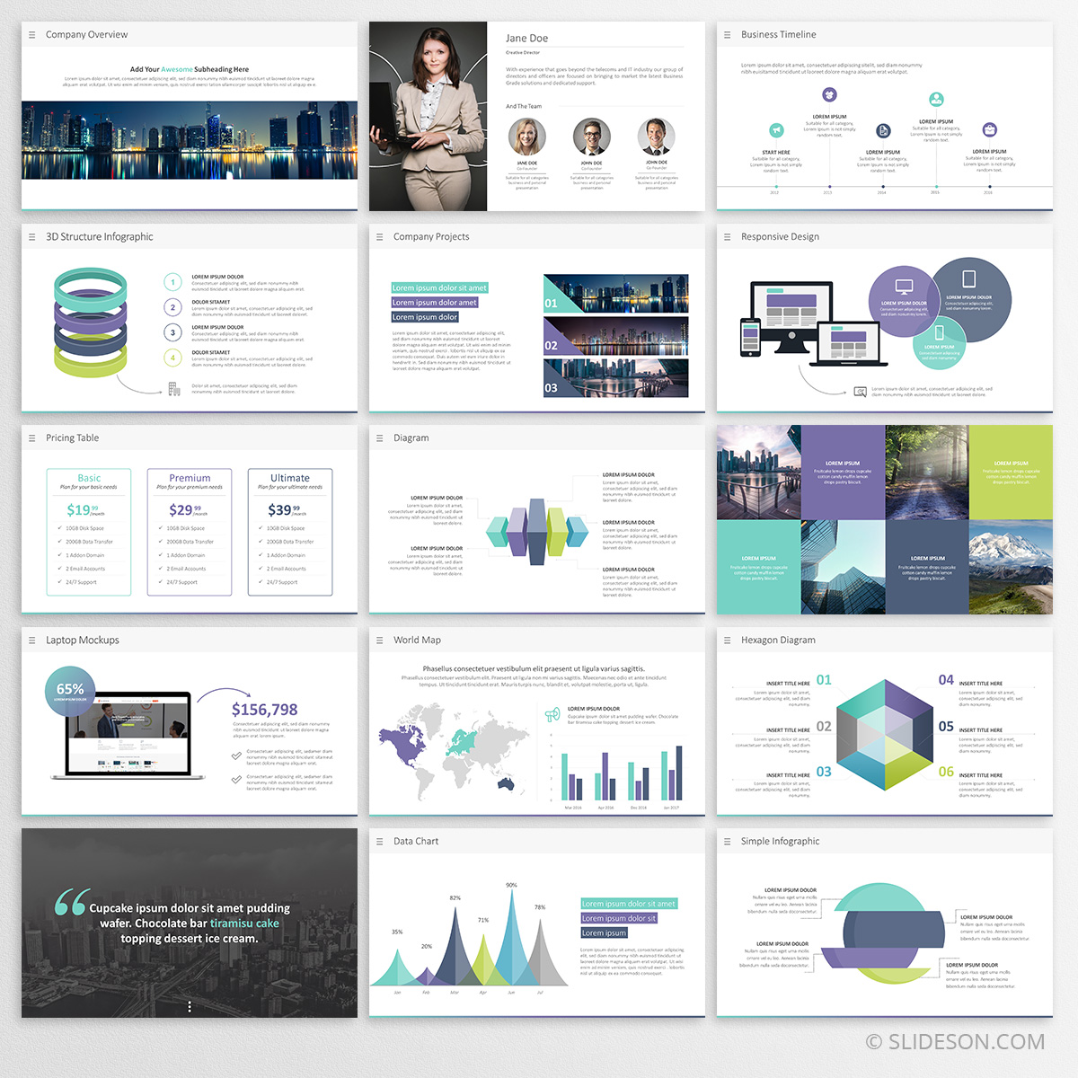 Business Presentation Template Powerpoint