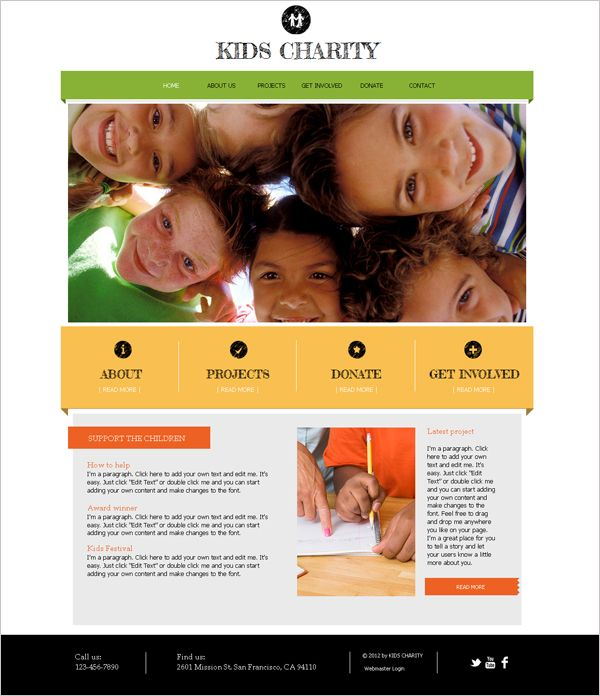 Charity Newsletter Templates
