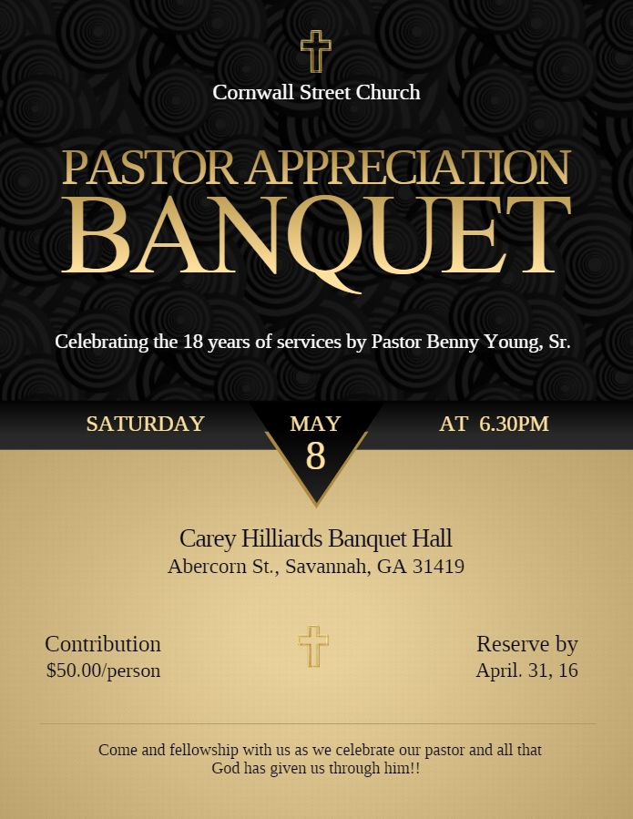 Church Event Invitation Templates