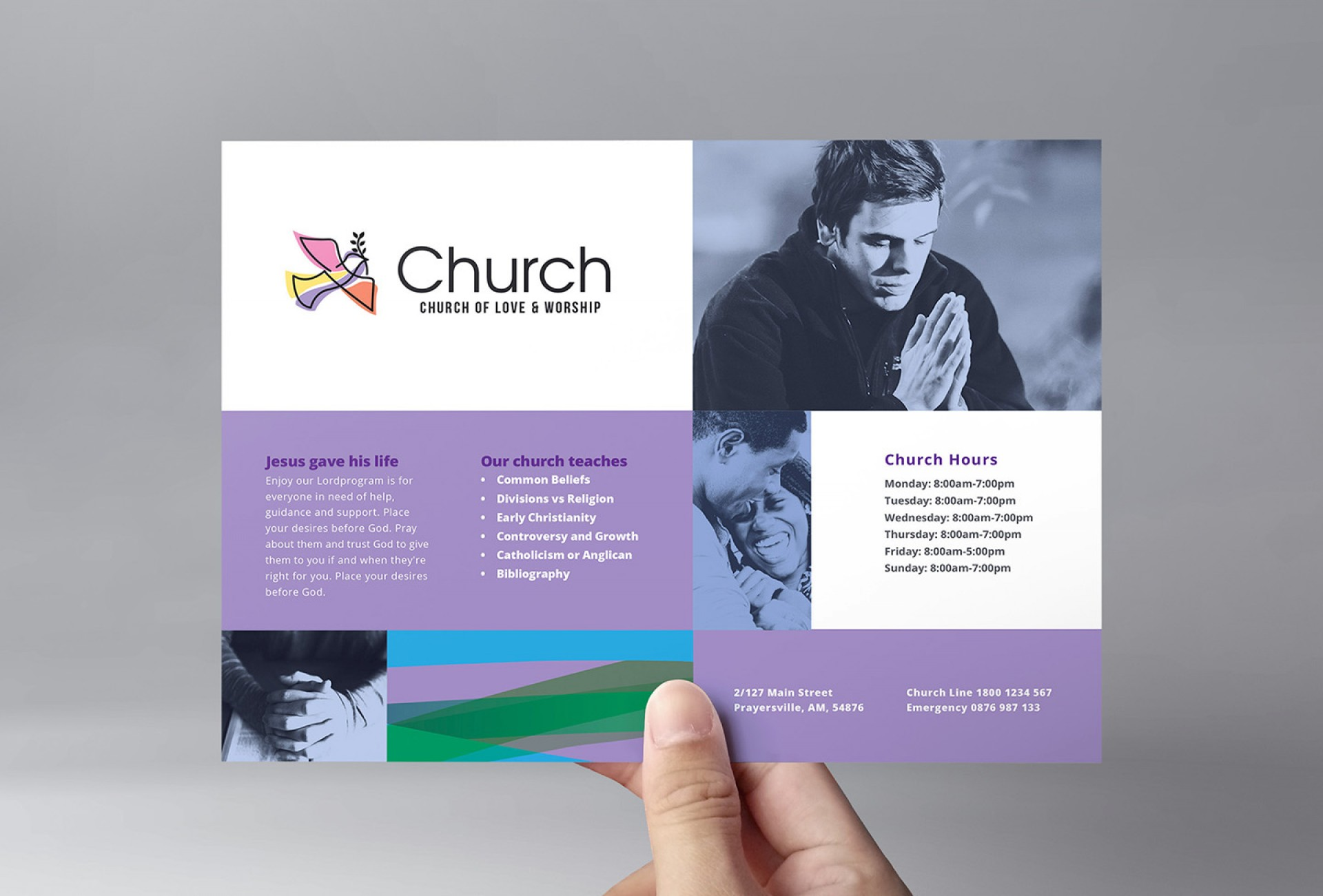 Church Invitation Templates Free Download