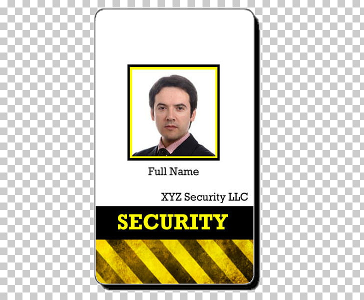 Clipart Security Badge Template