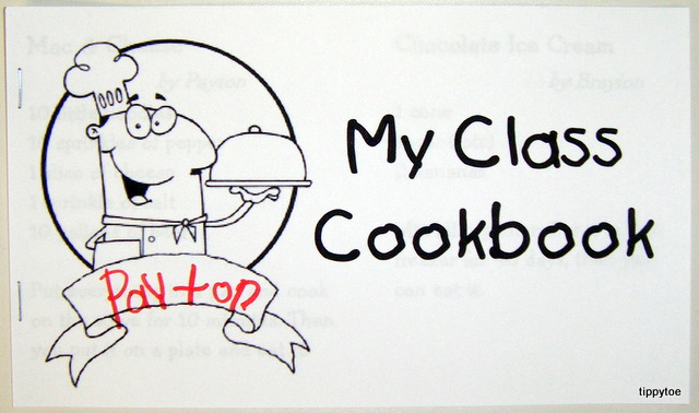 Cookbook Template For Kids