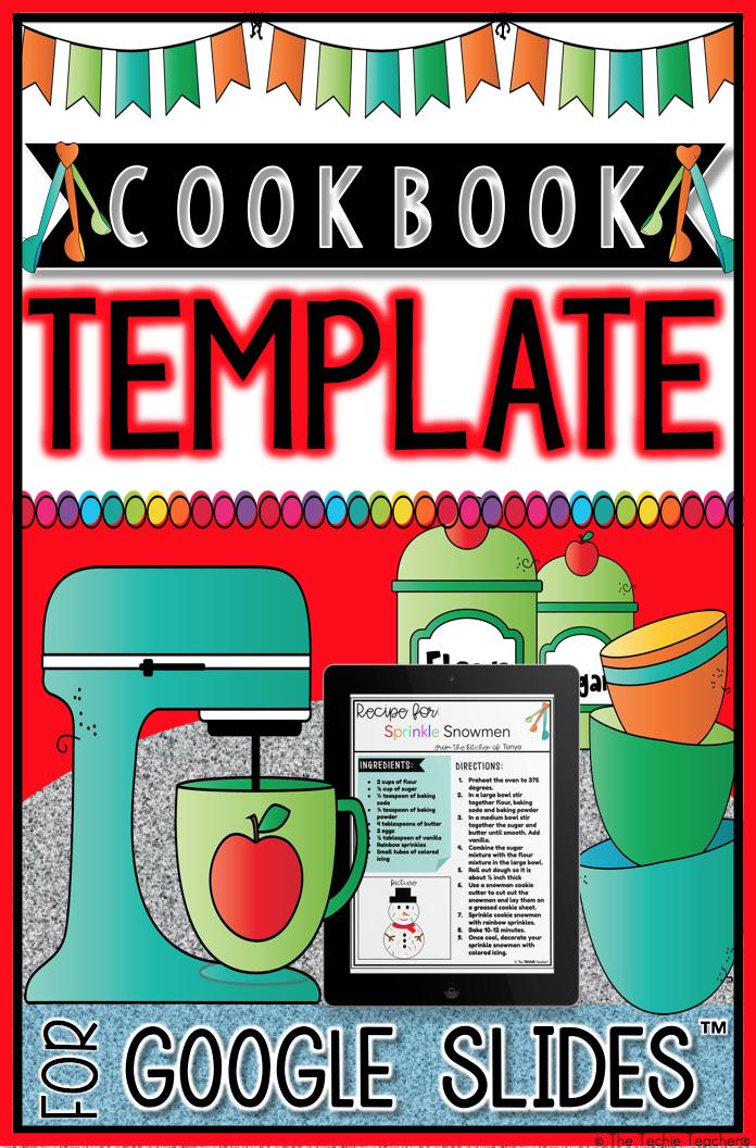 Cookbook Template Google Slides