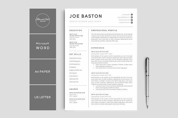Creative Resumes Templates