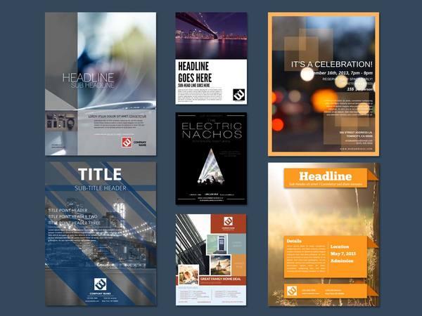 Design Flyer Templates Online Free