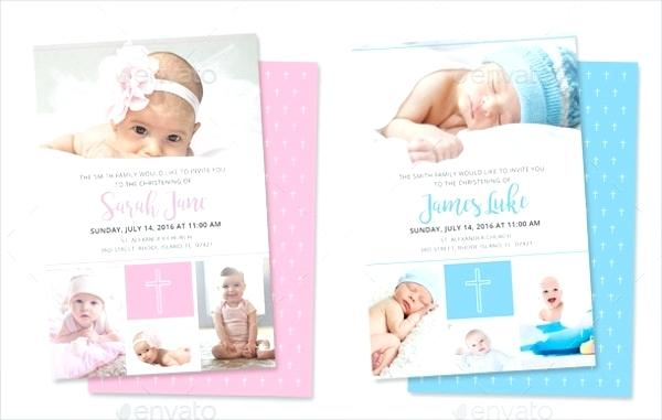 Downloadable Free Printable Baptism Invitations Templates