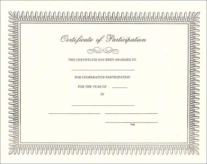 Downloadable Free Stock Certificate Template