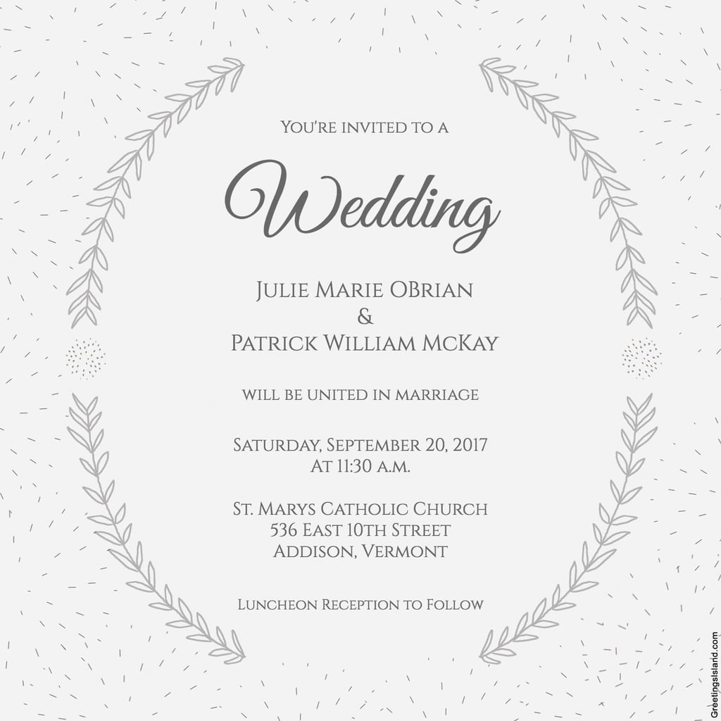 Free Wedding Invitation Templates For Word Free Downloadable Wedding Invite Templates Idasponderresearchco