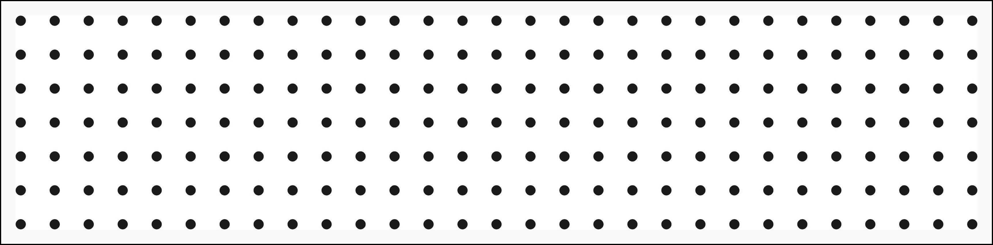Drill Hole Template