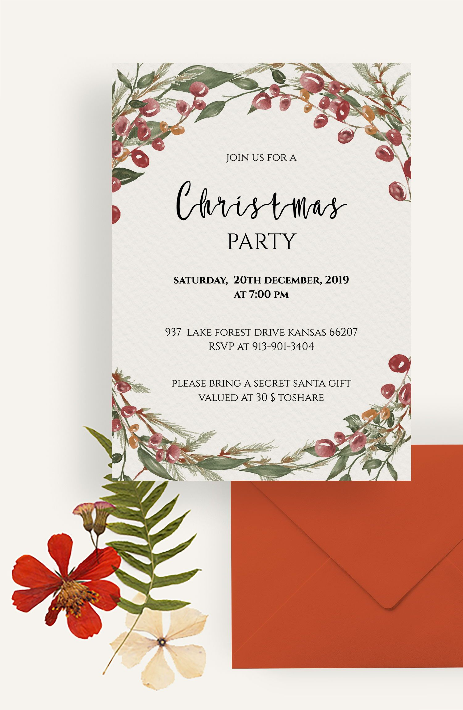 Editable Downloadable Invitation Templates