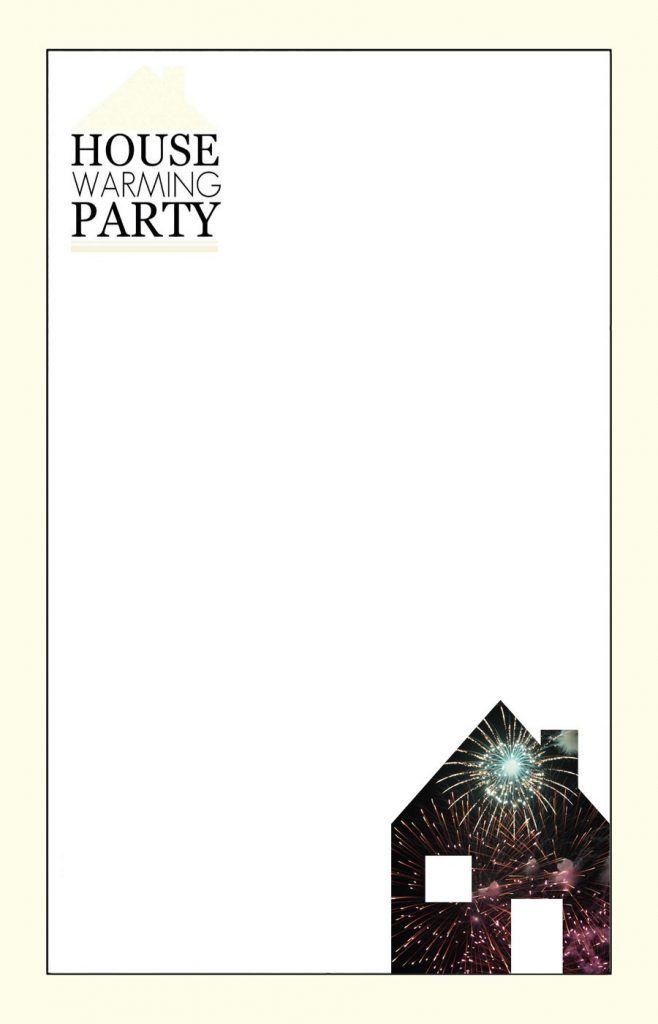 Editable Housewarming Party Invitation Template