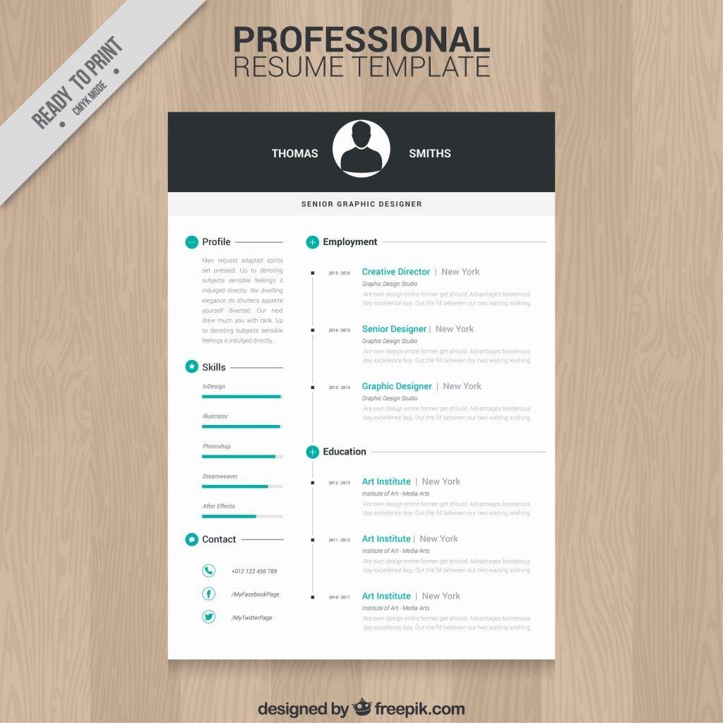 Editable Resume Templates Free