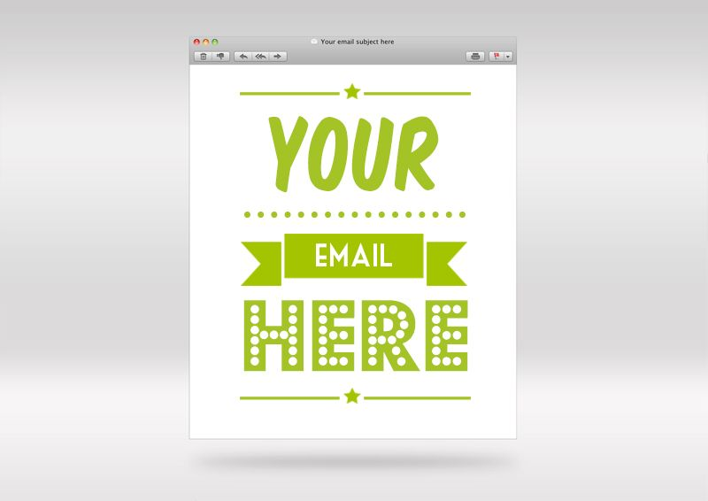 Email Template Mockup