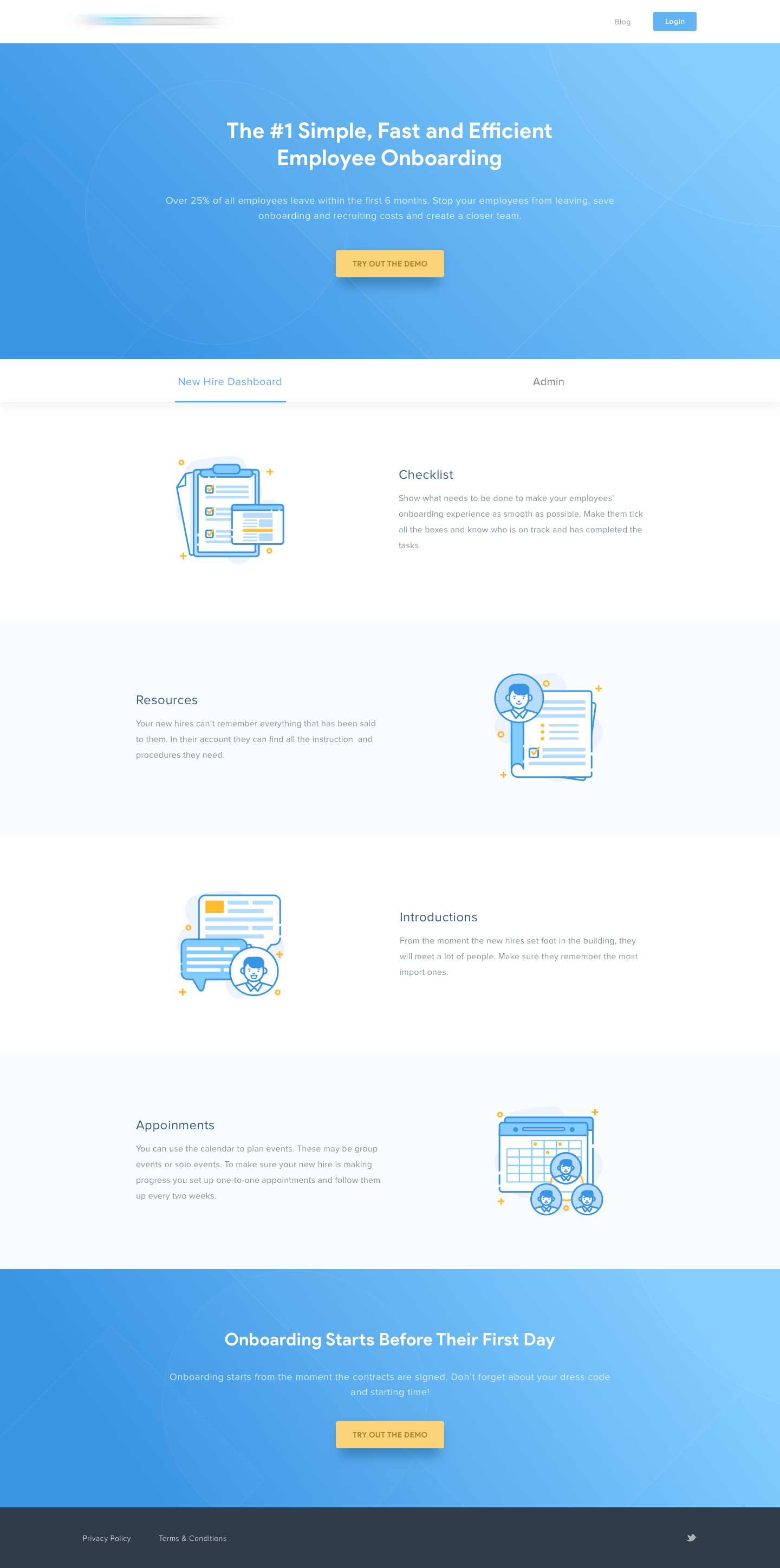 Employee Onboarding Email Template