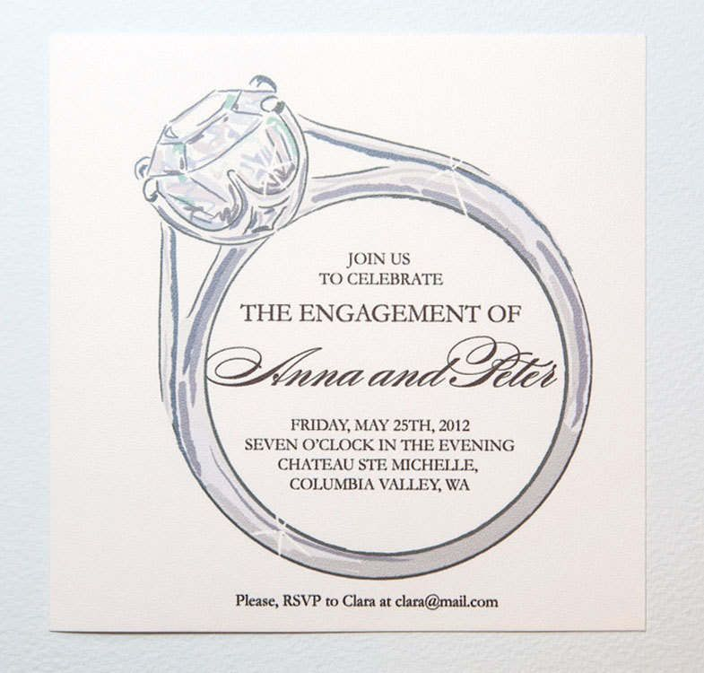 Engagement Invitation Templates