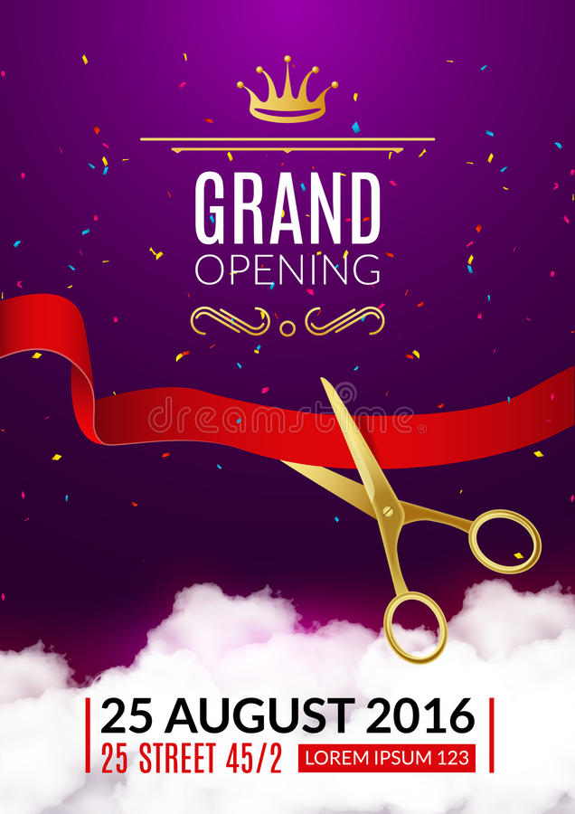 Event Invitation Grand Opening Invitation Template Free