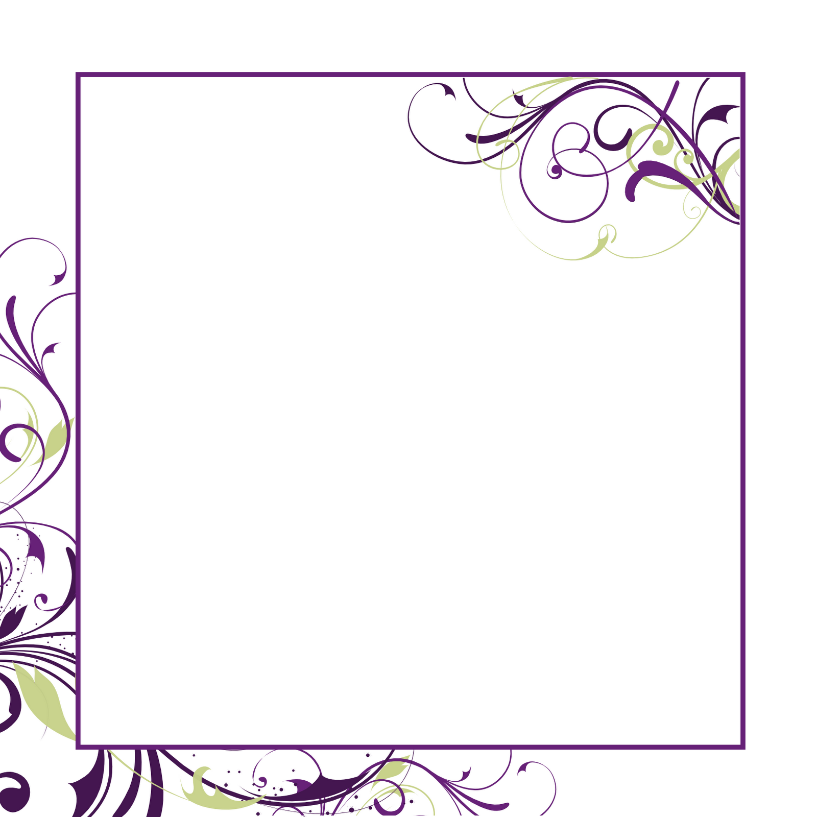 Free Blank Templates For Invitations