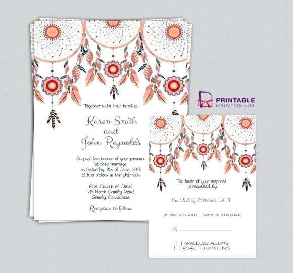 Free Editable Engagement Invitation Templates