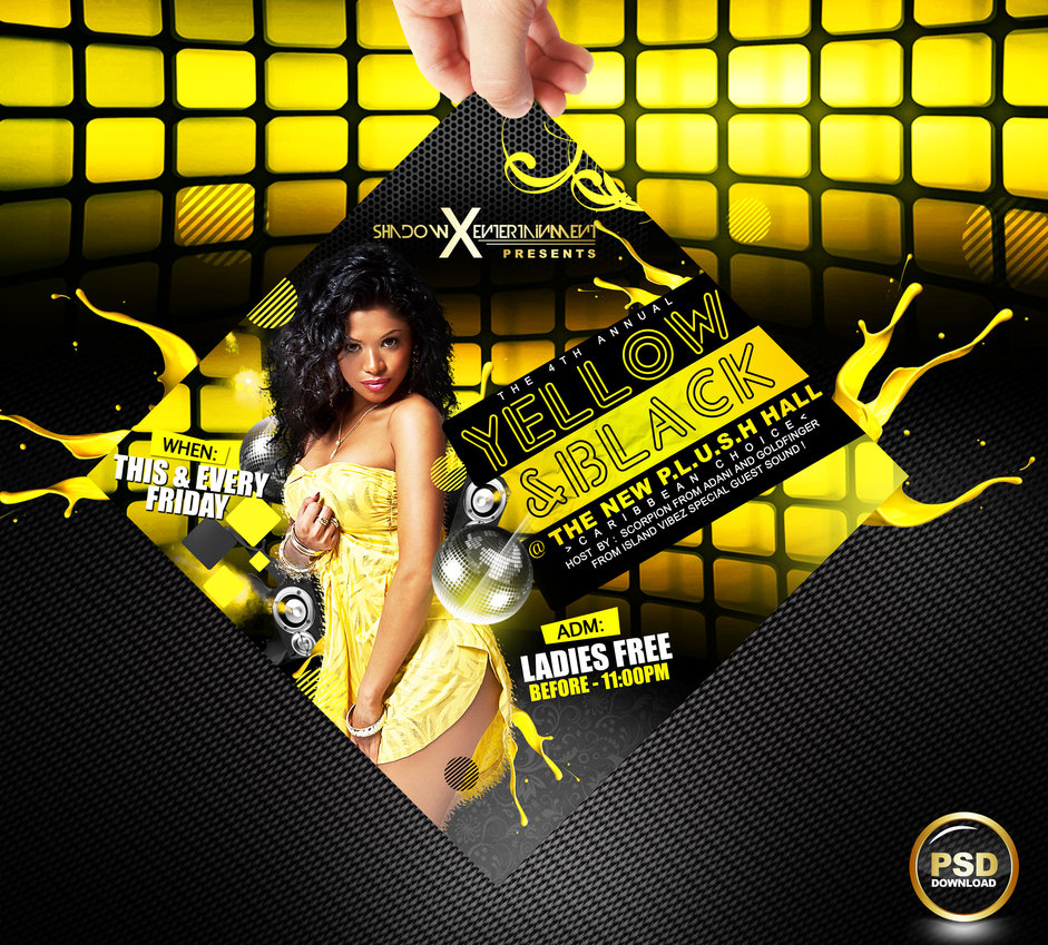 Free Nightclub Flyer Templates Psd Download