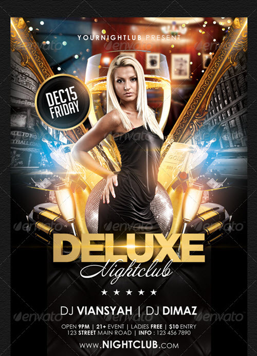 Free Nightclub Flyer Templates