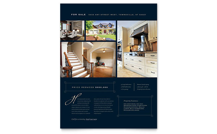 Free Real Estate Flyer Templates For Word