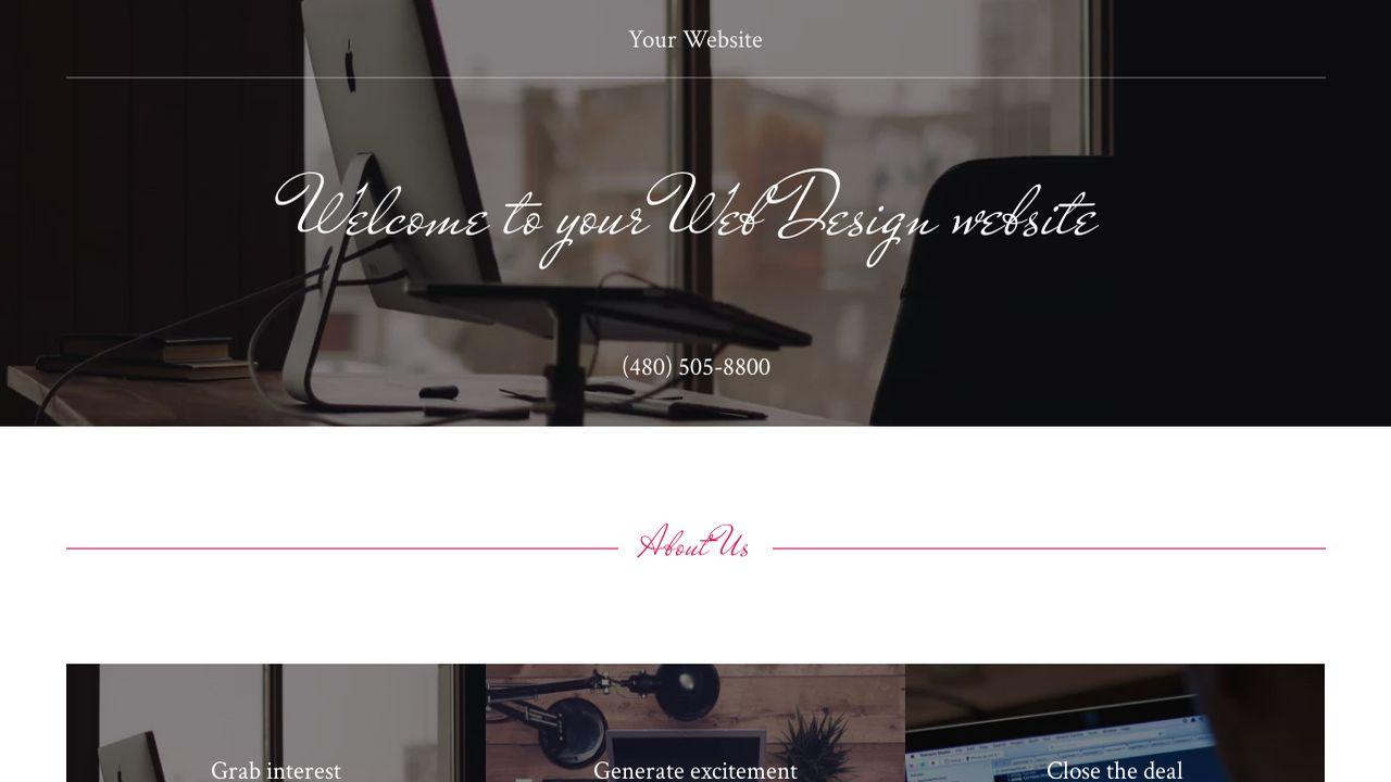 Godaddy Website Templates