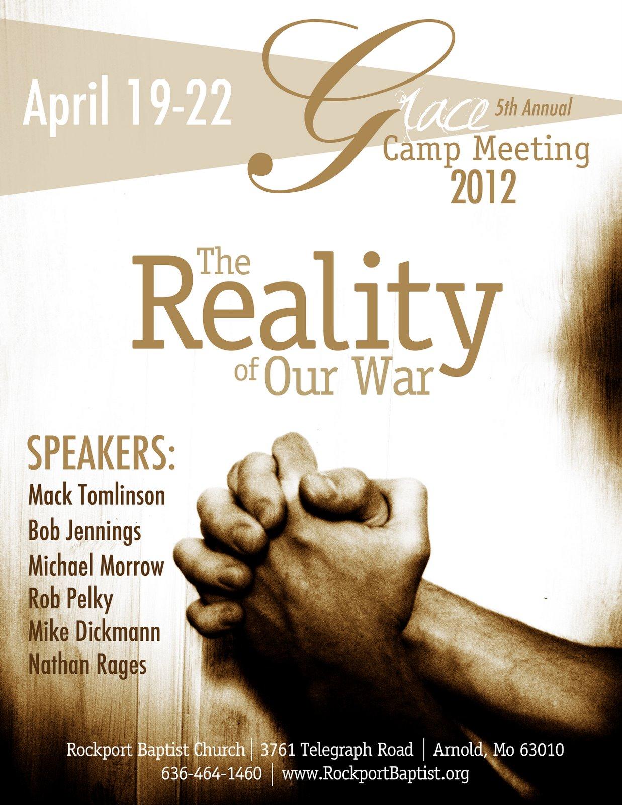 Gospel Meeting Flyer Template