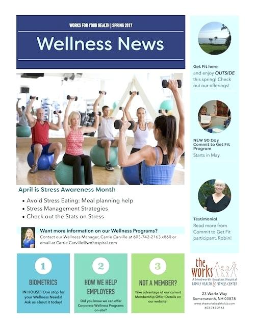 Health And Wellness Newsletter Template