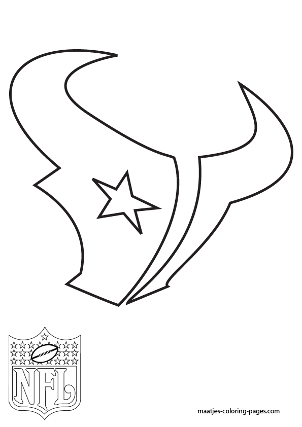 Houston Texans Logo Template