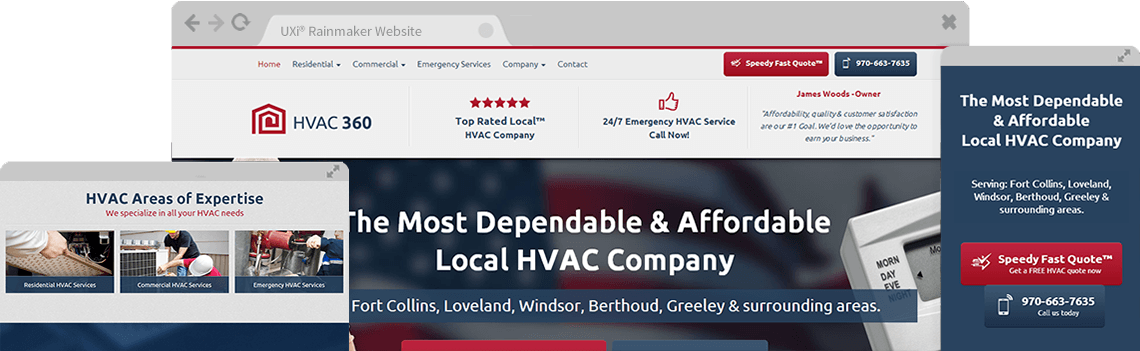 Hvac Website Templates Free