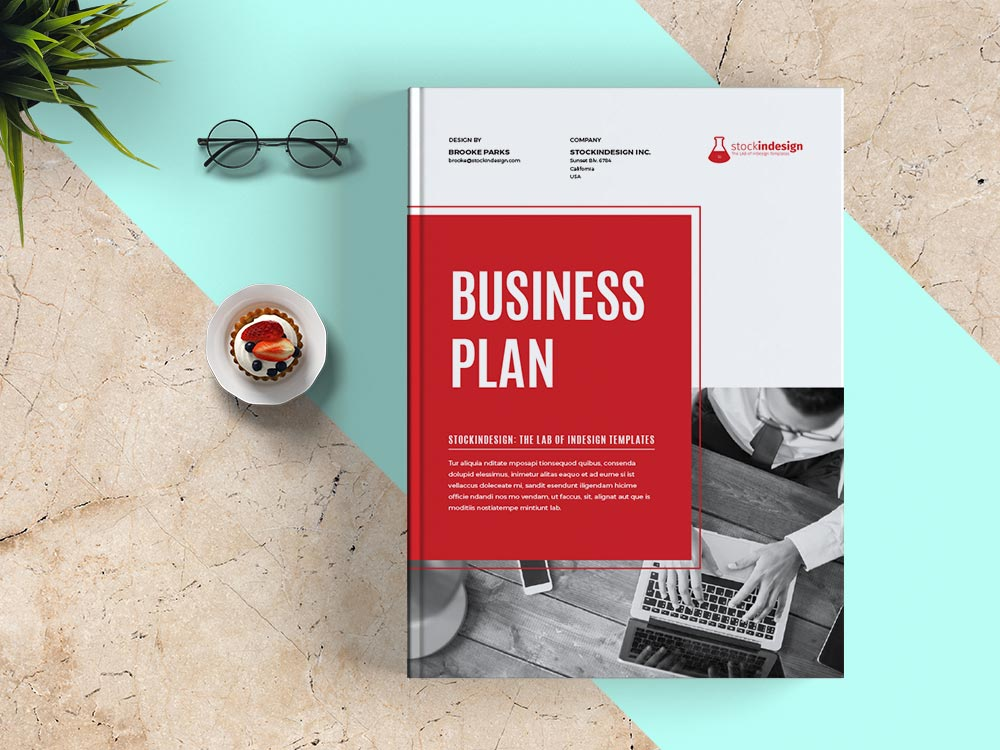 Indesign Business Plan Template