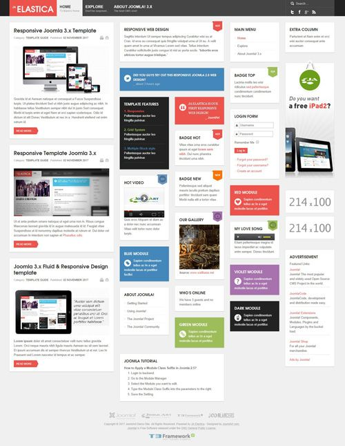 Joomla Responsive Templates Free Download