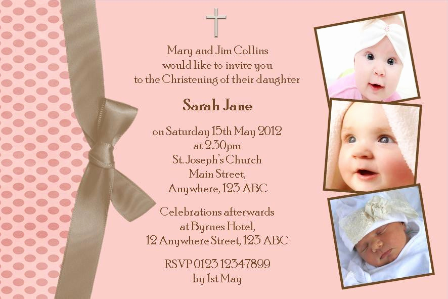 Free Printable Baptism Invitations Templates Then Free Christening Invitation Layout ? Orderecigsjuicefo