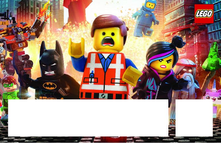 Lego Movie Invitation Template Free