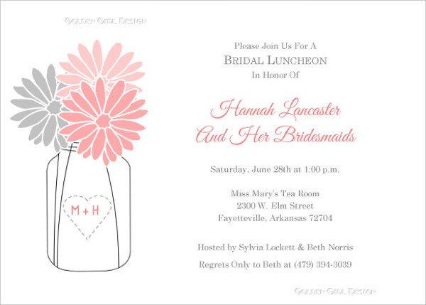 Luncheon Invitation Template Free