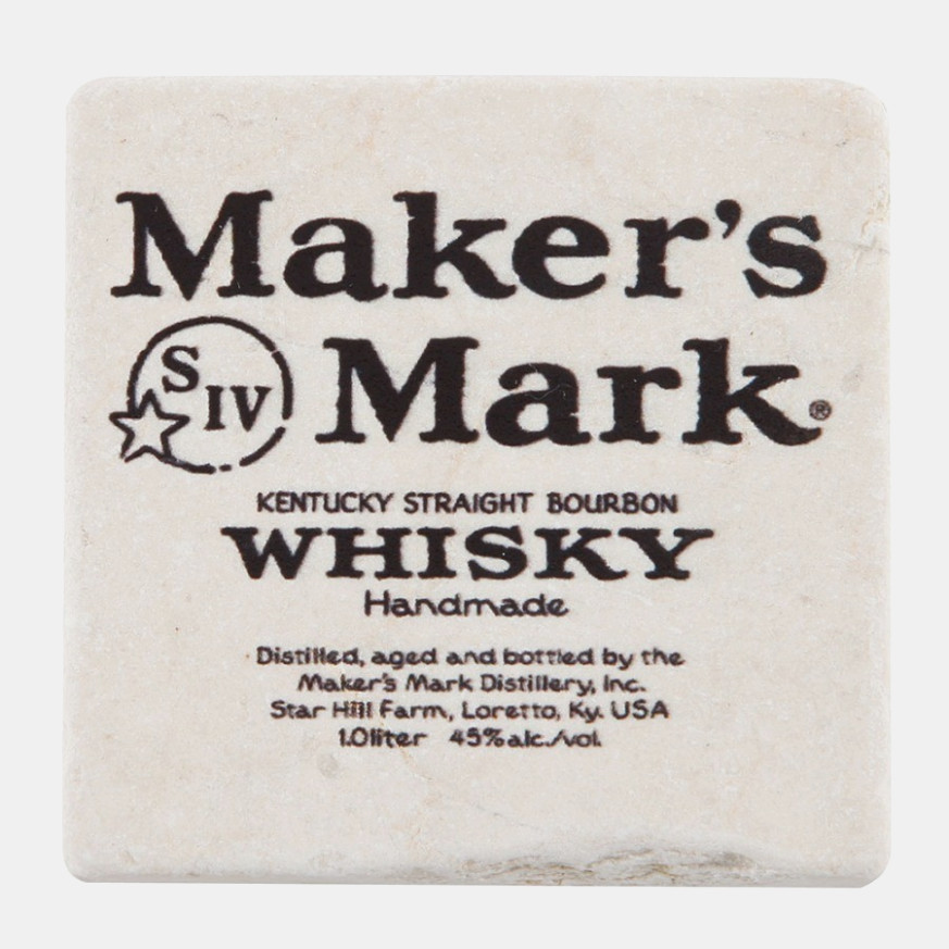 Maker's Mark Label Template