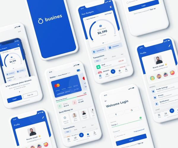 Mobile App Ui Templates Free