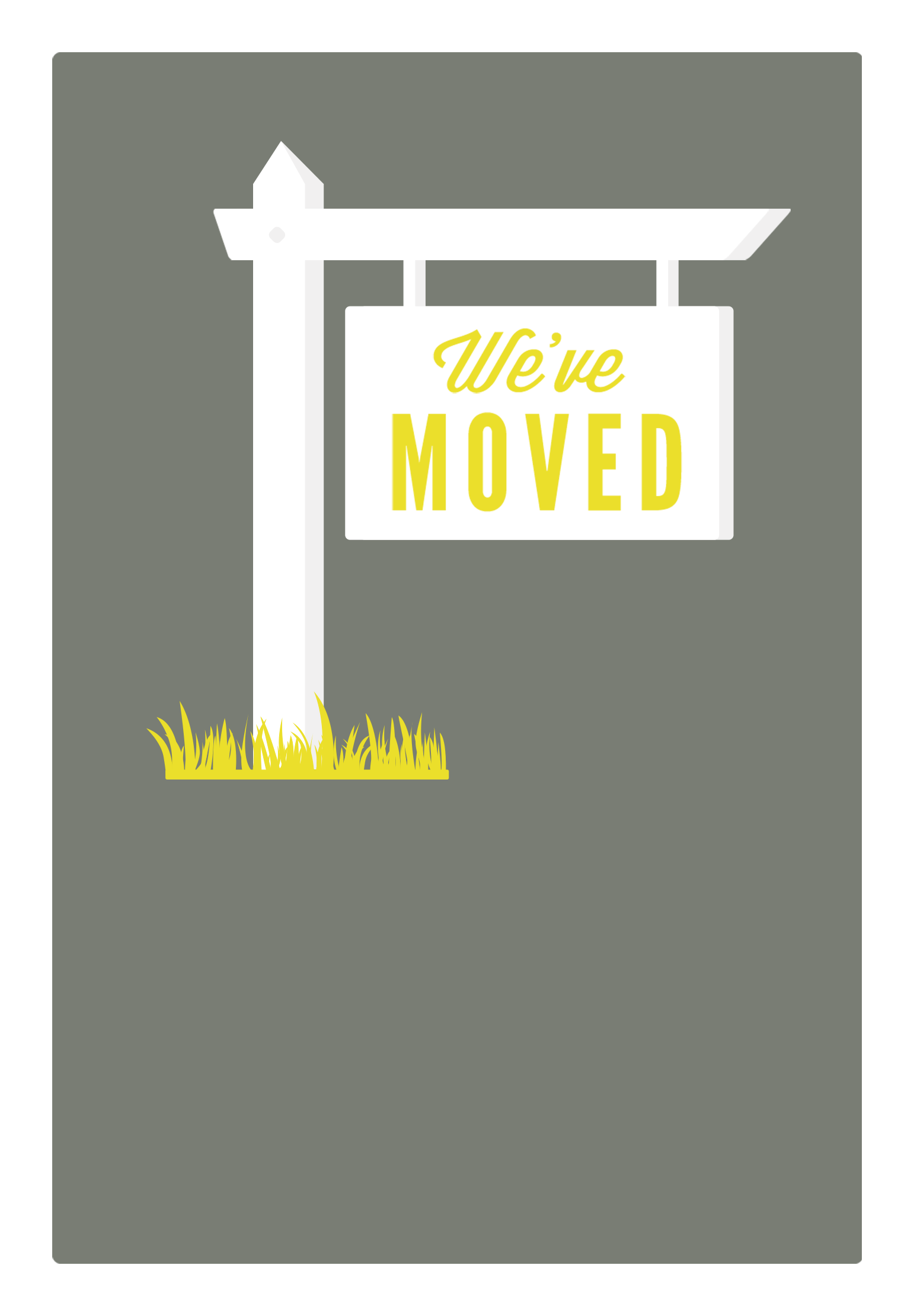 Moving Announcement Template Free