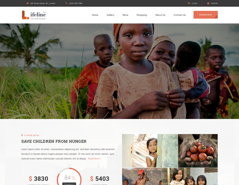 Ngo Website Templates Free