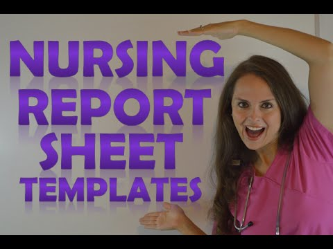Nurses Notes Template Pdf