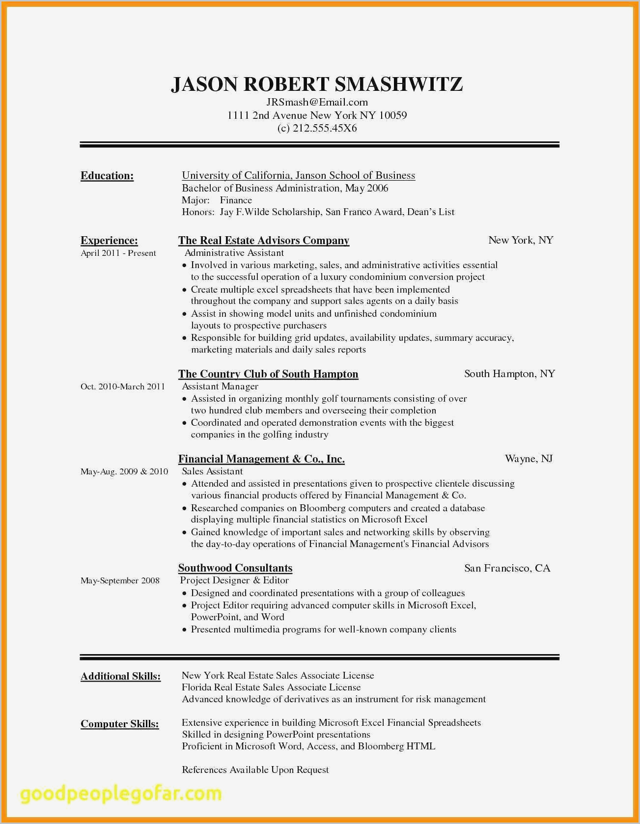 Nursing Cv Template Free Download