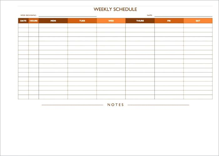 On Call Rotation Schedule Template