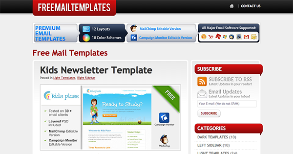 Outlook Email Newsletter Template