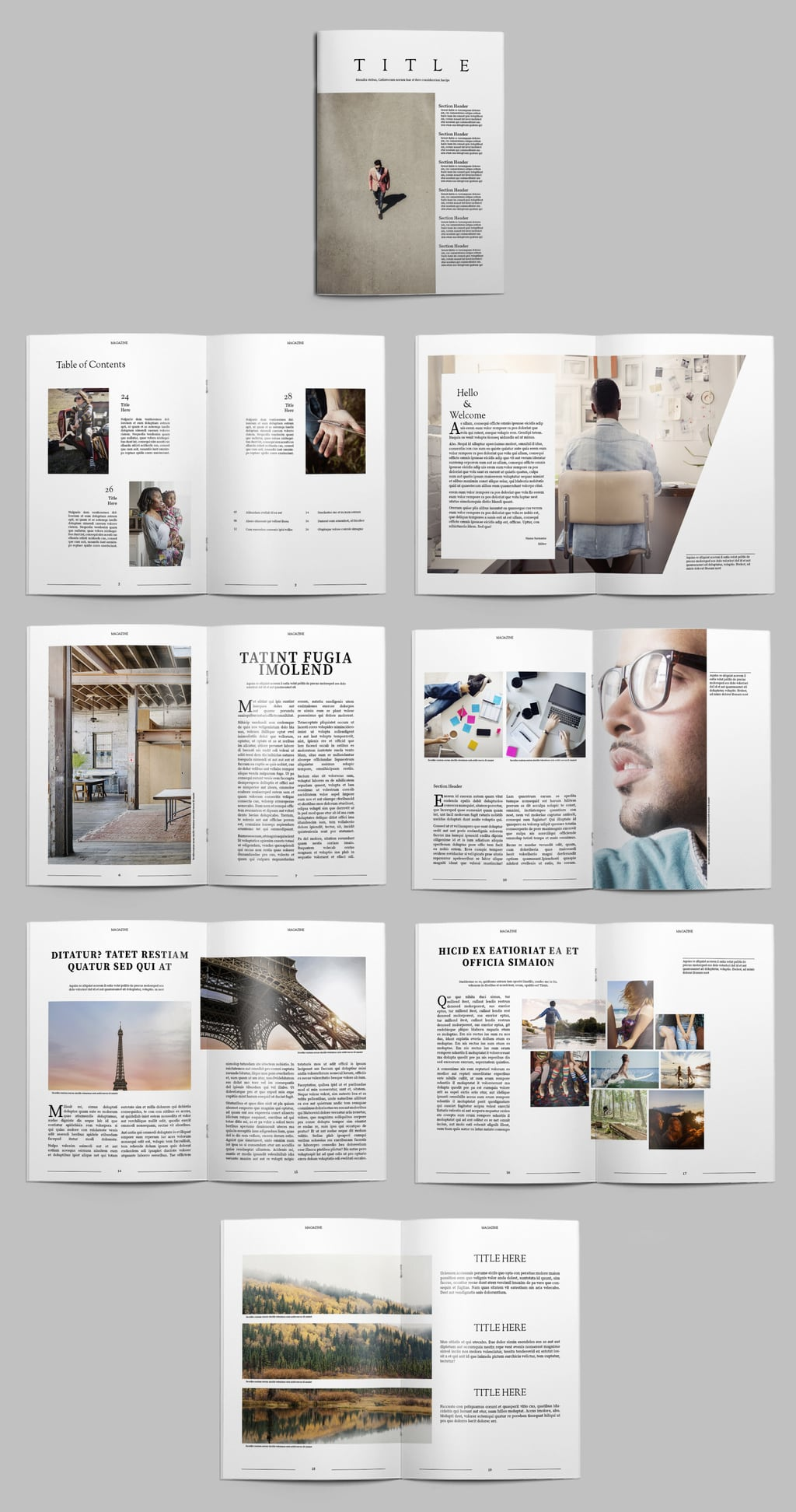 Photobook Template Free Download
