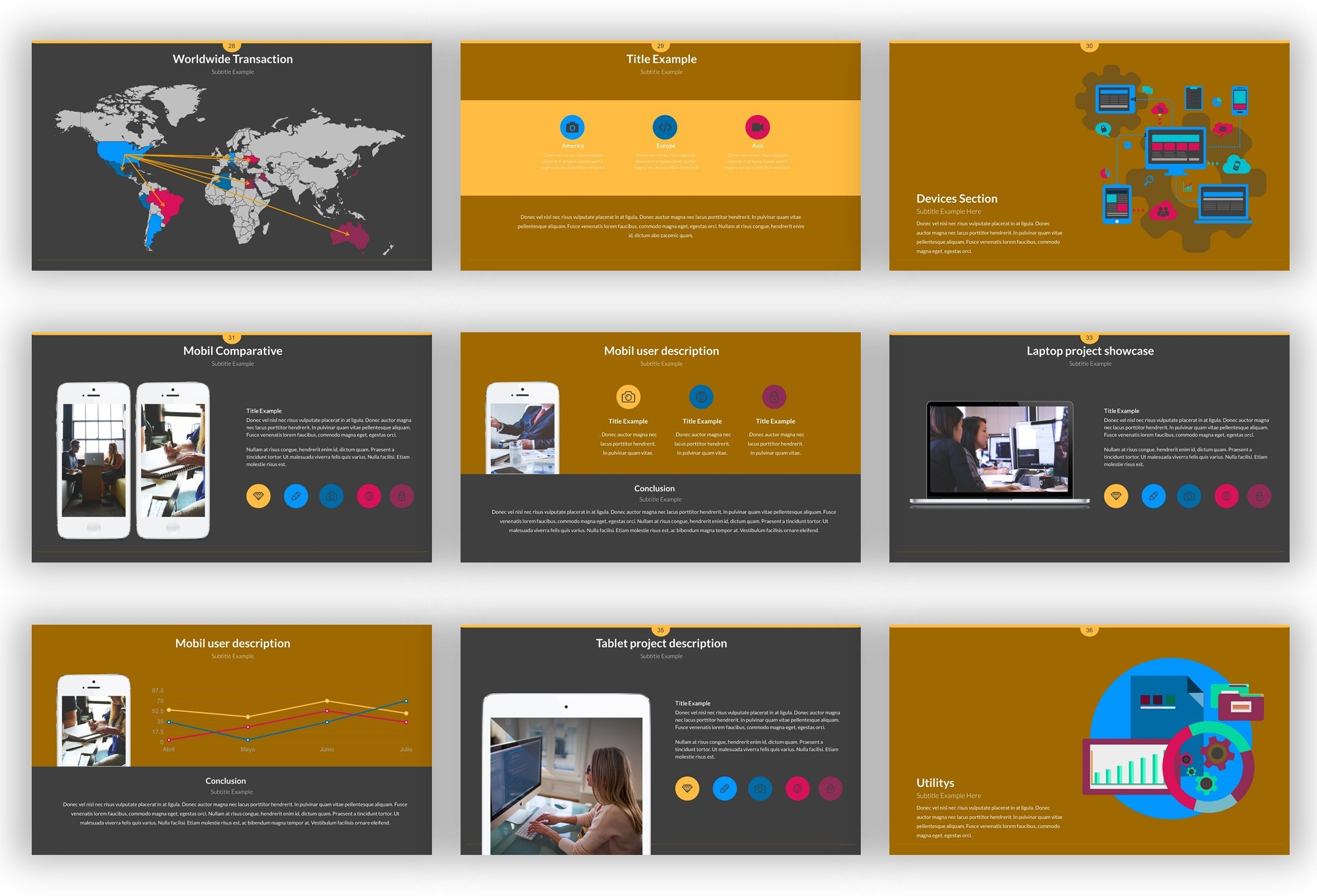 Pitch Deck Powerpoint Template Download